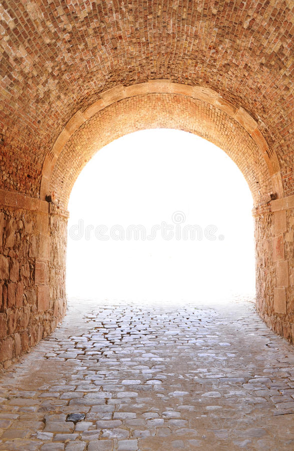 Passage royalty free stock photography