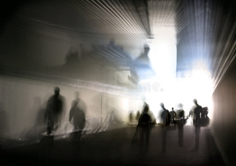 Download Passage 3. stock image. Image of dream, figures, people - 506083