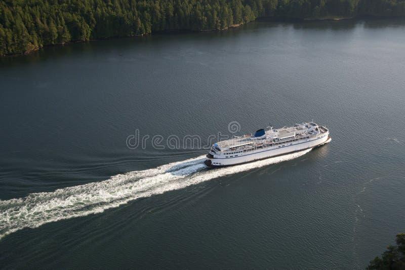 Passage actif, îles de Golfe, Canada photos stock