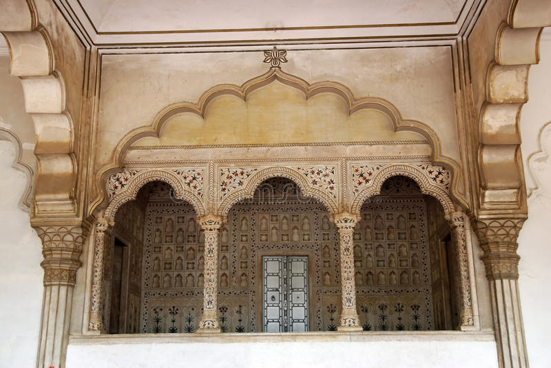 Download Passage Of Agra Fort In India Stock Image - Image: 13166649