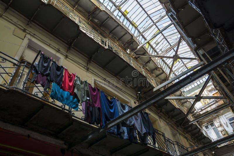 Passage anglais à Bucarest photos stock