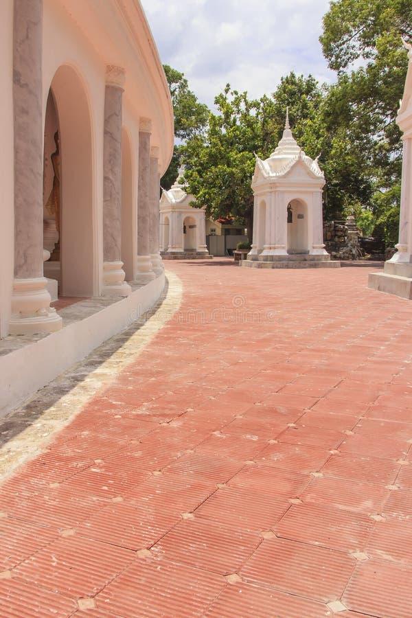 Passage Around Pagoda stock image