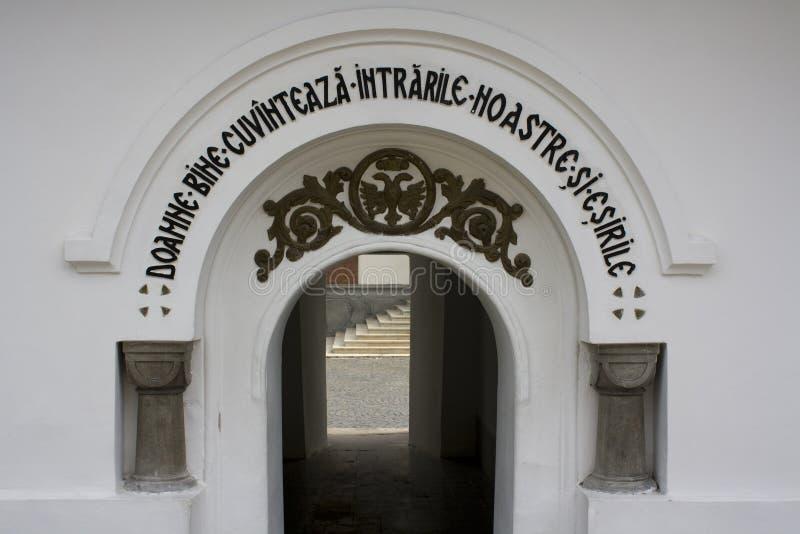 Passage through a building