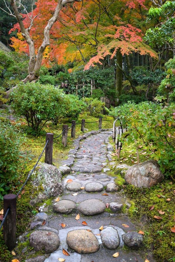Passage couvert autour de Nara Park, Japon photographie stock