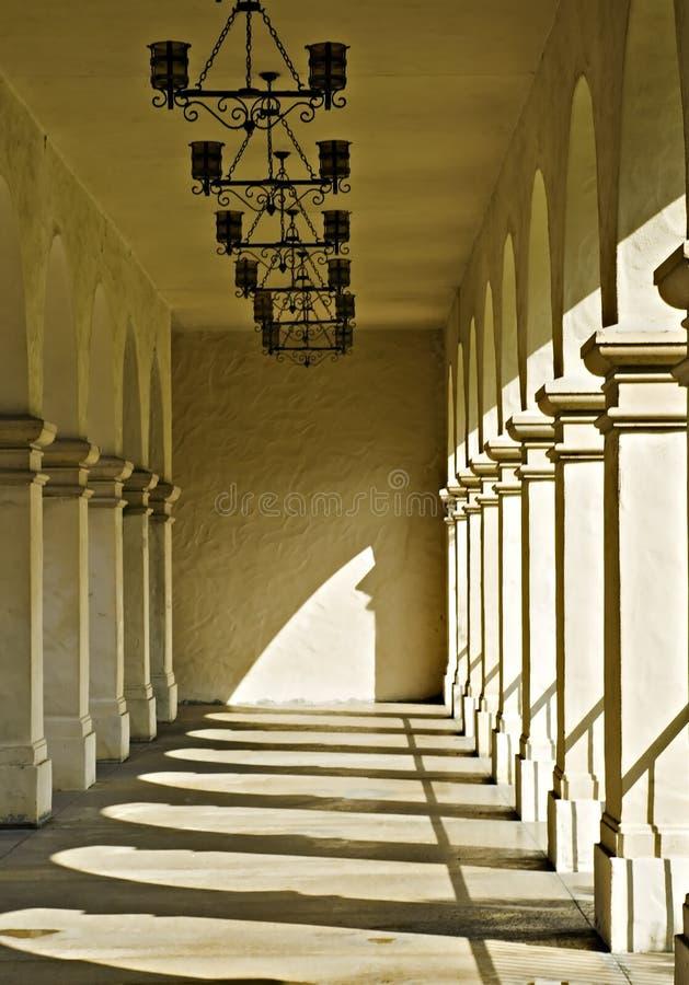 Passage couvert couvert photo libre de droits