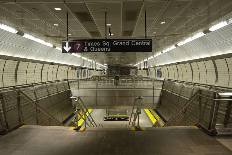 Passage couvert de souterrain de New York photographie stock