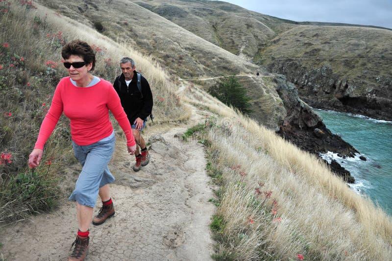 Passage couvert de tête de Godley - Nouvelle-Zélande image stock