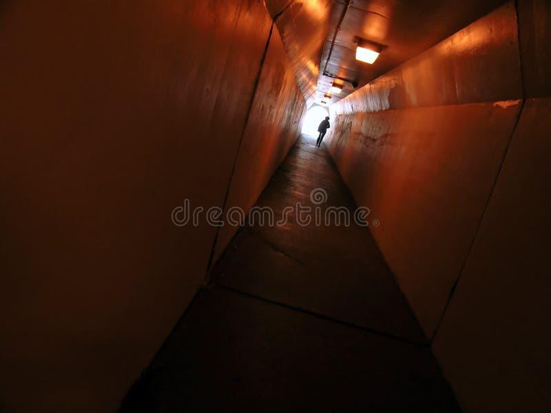 Passage couvert de tunnel photos stock