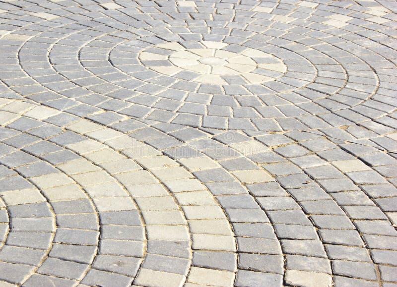 Passage couvert fait de briques. photos libres de droits