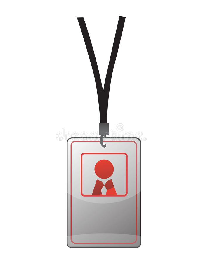 Passage d'identification de garantie illustration stock