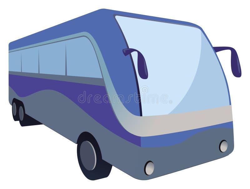 Passage de bus illustration de vecteur