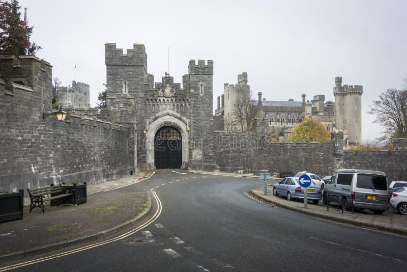 Passage de château d'Arundel photos libres de droits