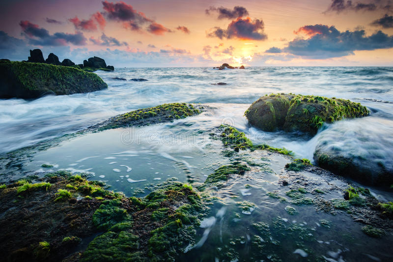 Passage de l'eau - long Hai images stock