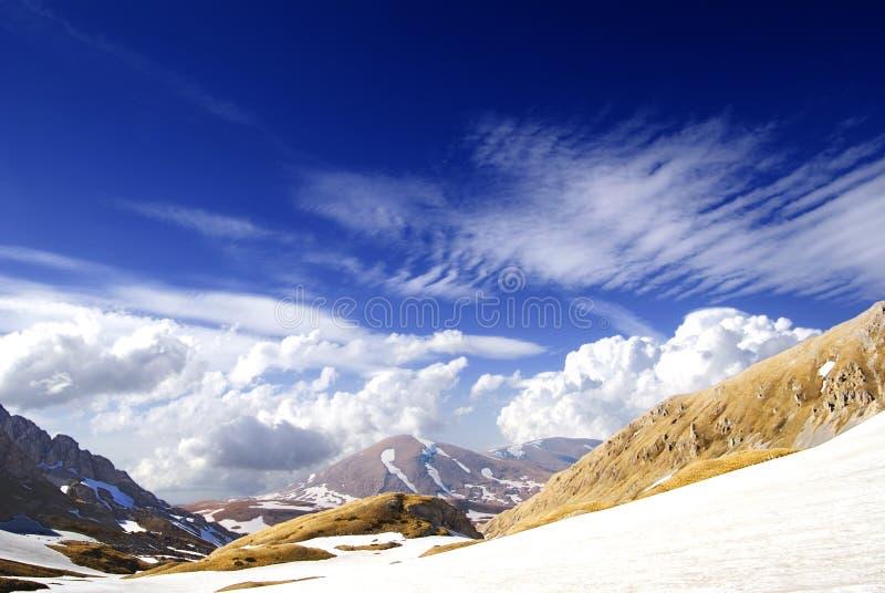 Passage de montagne image libre de droits