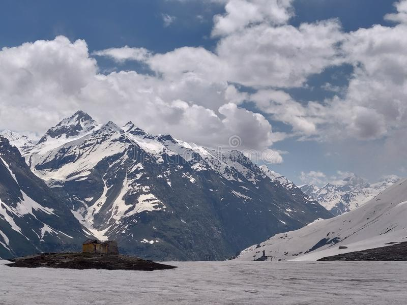Passage de Rohtang images stock