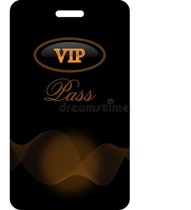 Passage de VIP illustration stock