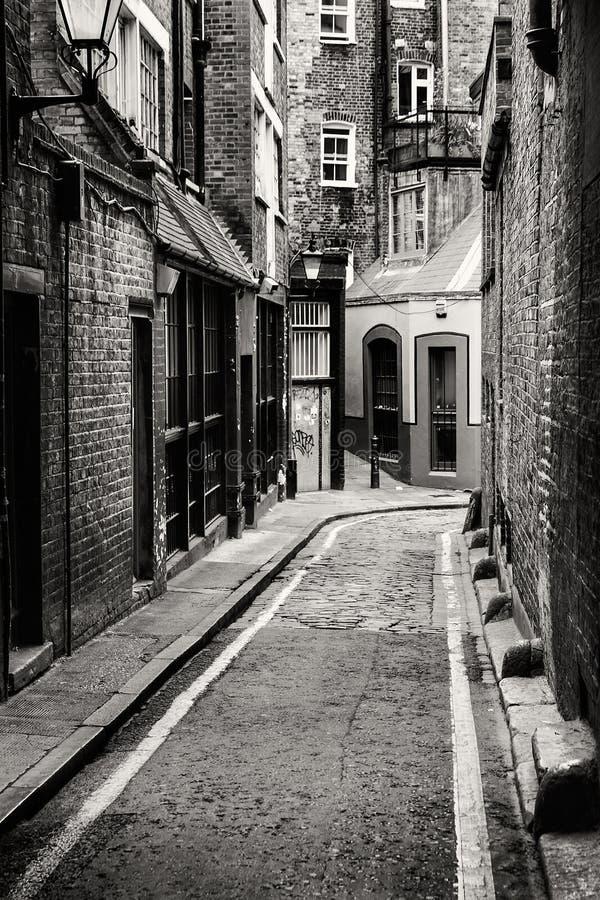 Passage i Whitechapel royaltyfri fotografi