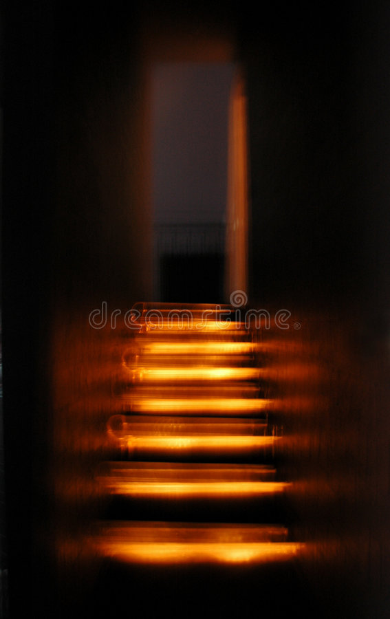Passage Of Lights Royalty Free Stock Photo