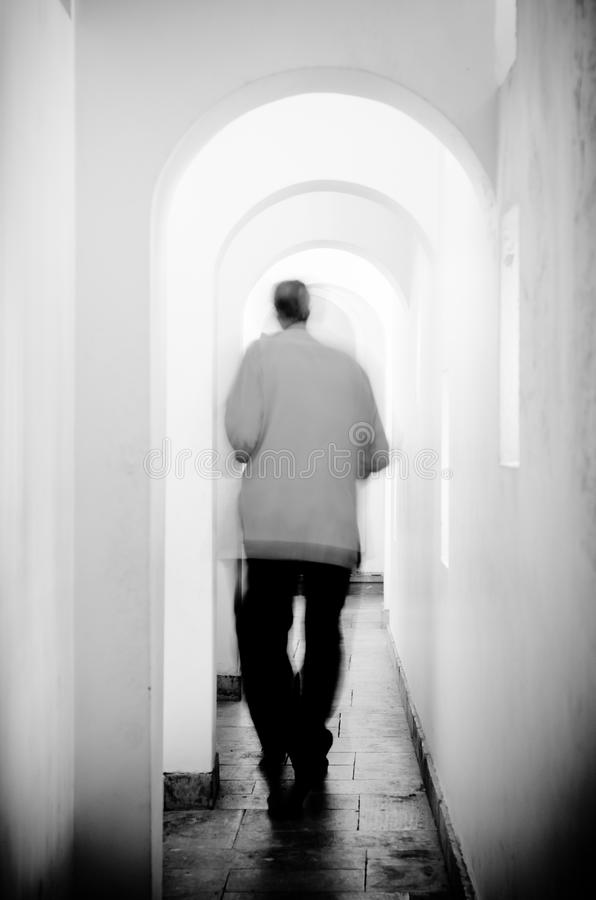 Download Passage stock image. Image of perspective, corridor, white - 31391393