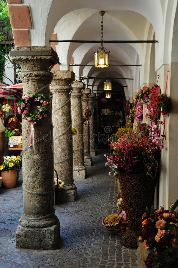 Free Passage Near Getreidegasse In Salzburg, Austria Royalty Free Stock Photos - 9639218