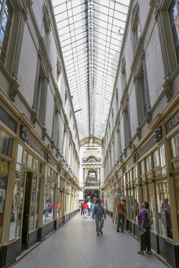 Passage Pommeraye dans la ville de Nantes en France photographie stock libre de droits