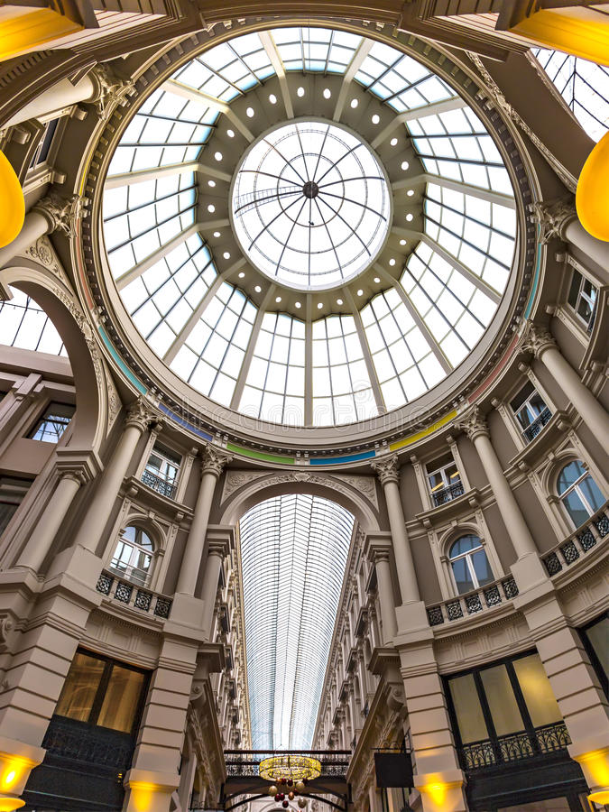 The Passage Shopping Mall royalty free stock images