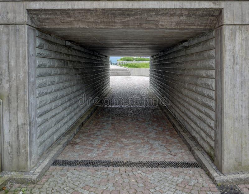 Passage souterrain vers le lac Konstance photos stock