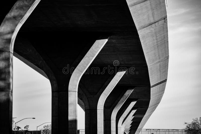 Passage supérieur d'autoroute photos stock