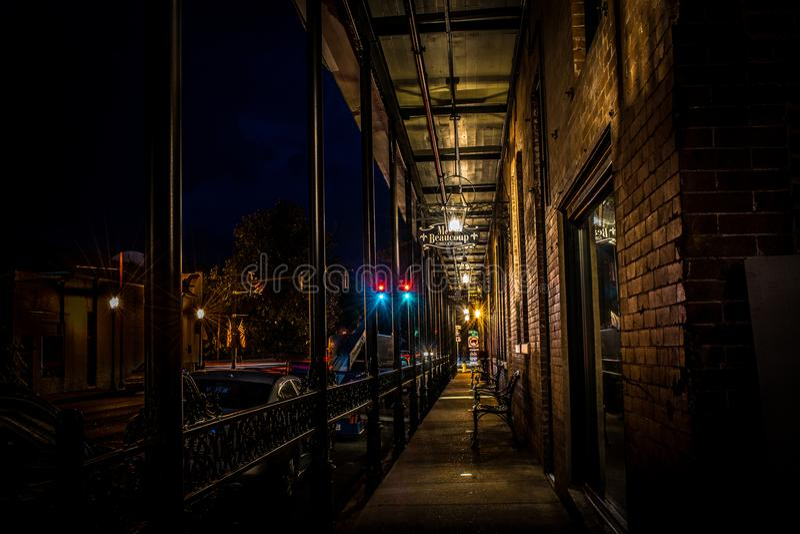 Passage till Front Street arkivfoton