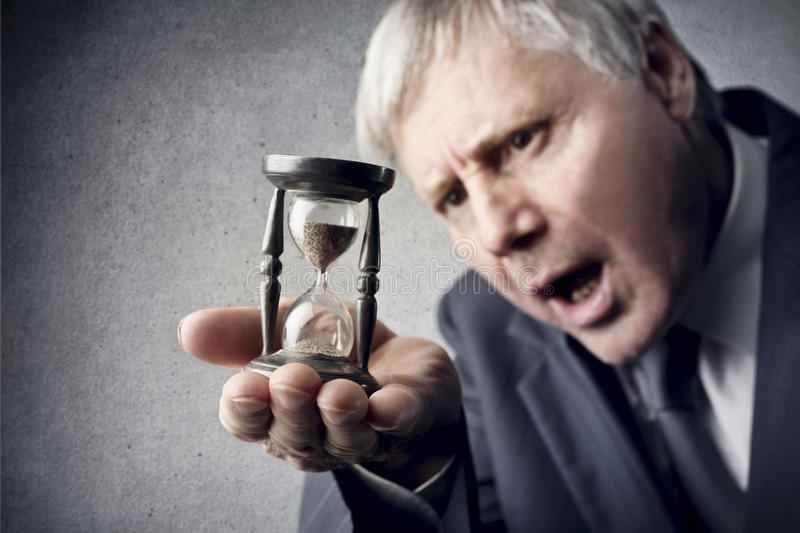 The Passage of Time stock image