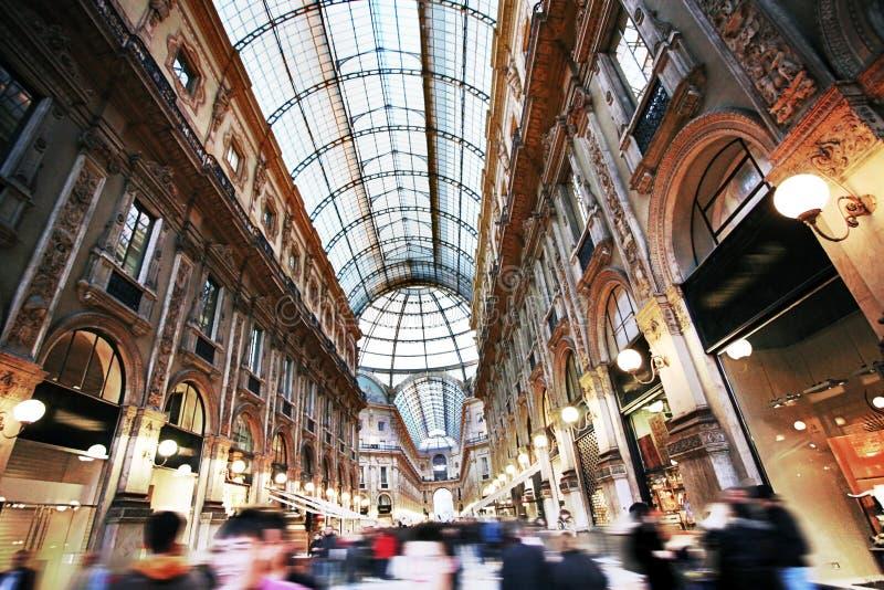 Passage Vittorio in Milaan royalty-vrije stock foto's