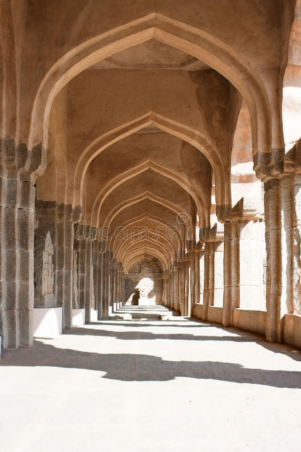 Download The Passage Of Zenana Enclosure Stock Photo - Image of karnataka, pillars: 10245334