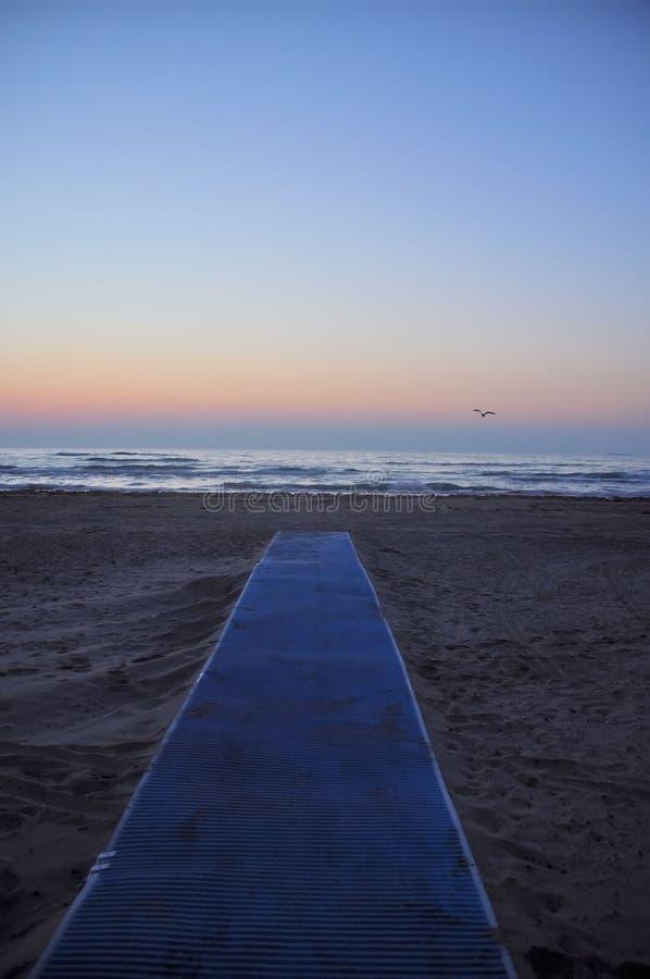 Passagem à praia foto de stock royalty free