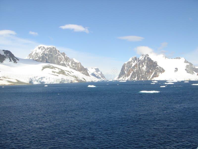 Passagem a Antartica imagens de stock