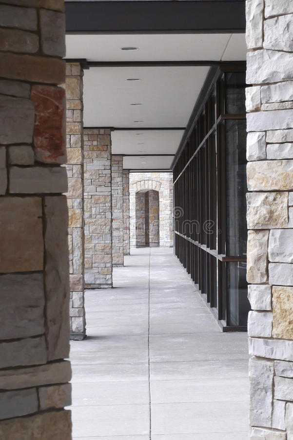 Passagem arquitetónica imagens de stock royalty free