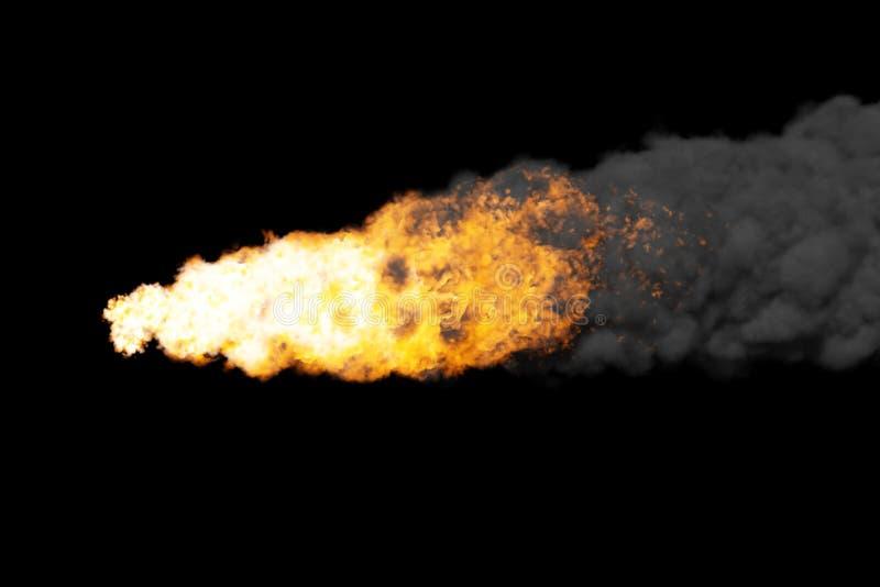 Passagem asteróide imagens de stock royalty free