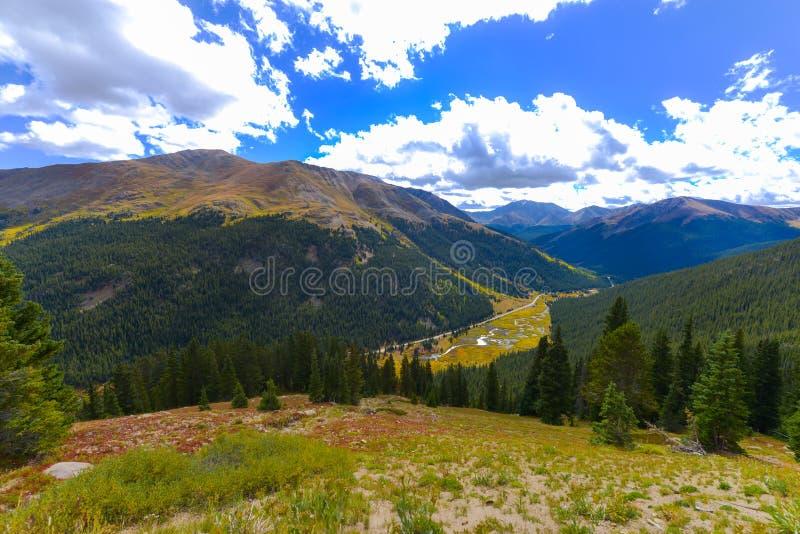 Passagem Colorado da independência foto de stock royalty free
