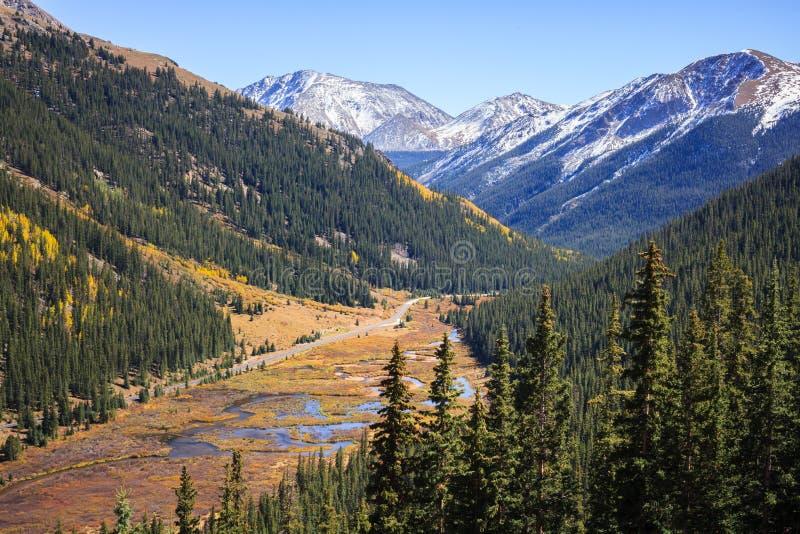 Passagem Colorado da independência fotos de stock royalty free