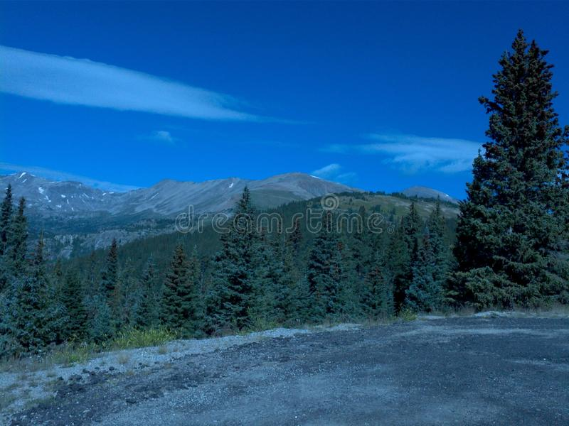 Passagem Colorado do loveland da partilha continental foto de stock royalty free