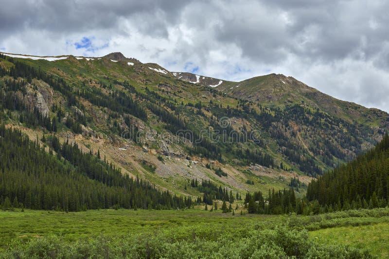 Passagem da independência, Colorado fotos de stock royalty free