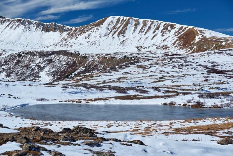 Passagem da independência em Rocky Mountains fotografia de stock royalty free