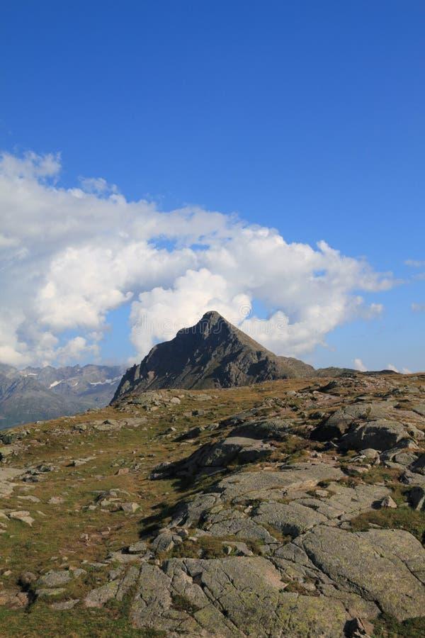 Passagem de Bernina fotos de stock