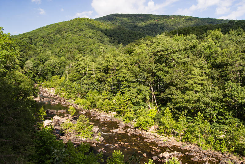 Passagem de Goshen, Virgínia, EUA imagem de stock royalty free