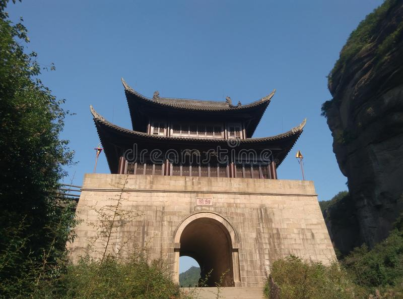 Passagem de Jianmen imagens de stock royalty free