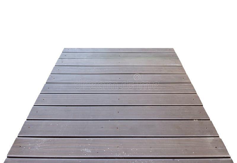 Passagem de madeira da ponte da prancha imagens de stock