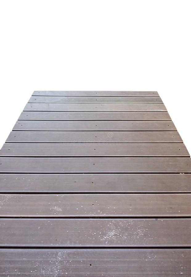Passagem de madeira da ponte da prancha fotos de stock