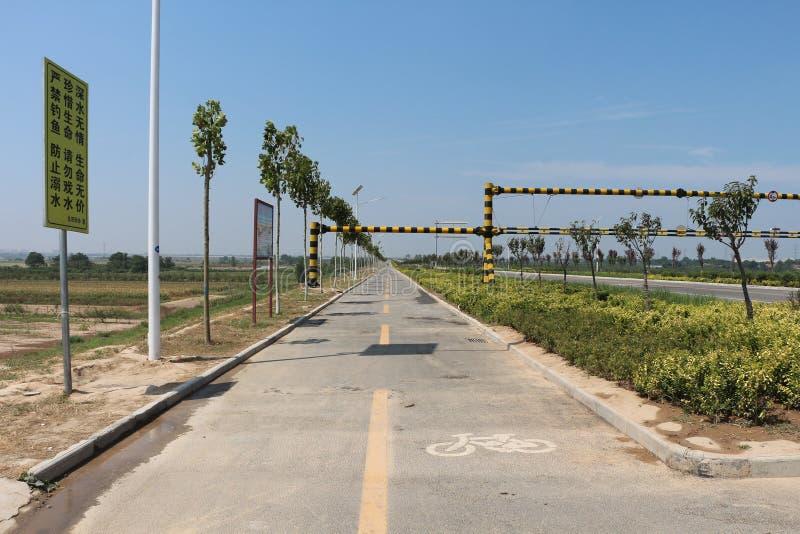 Passagem de montada em Lintong, China foto de stock