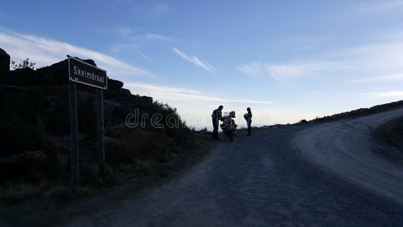 Passagem de montanha de Swartberg fotos de stock royalty free