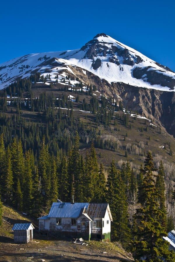 Passagem de montanha vermelha 2 imagem de stock