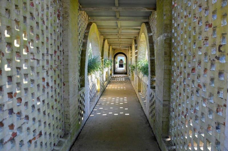 Passagem do castelo imagens de stock royalty free